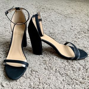 Nicole Miller New York Chunky Heel Sandal